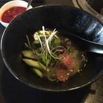 焼肉チャレンジャー - 盛岡冷麺ハーフ