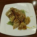 Yokohamachuukagaichuugokuhanten - 鶏肉の甘酢あんかけ