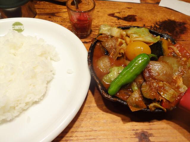 野菜を食べるカレー camp 代々木本店>