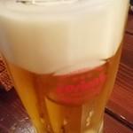 琉球料理 安 - オリオン生ビール