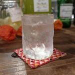 灯 - 薬膳酒レモンのソーダ割り