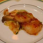 中国料理 琥珀 - 北海道産 ホタテの発酵唐辛子炒め