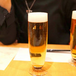 中国料理 琥珀 - 生ビール 琥珀の時間