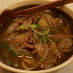 藤七 - 料理写真:肉うどん