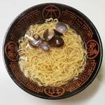 道の駅 てしお - 料理写真:天塩味しじみラーメン(どこかで頂いたマイ丼を使用)