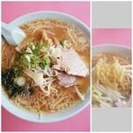 ラーメンの百番 - 料理写真:味噌ラーメン 600円 2017/11