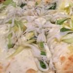 Pizzeria SOL - 白魚と九条ねぎのピッツア