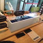 KAITEKI CAFE - 店内、いたるところにソーラーパネルが!