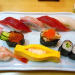 磯春 - ランチにぎり寿司