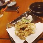 76312960 - もずくの天ぷら
