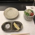天ぷら小泉 たかの - サラダ