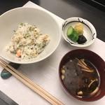 天ぷら小泉 たかの - 天バラ・赤出汁・香の物