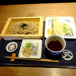 76314596 - 天ぷらせいろ(1380円)2017年11月