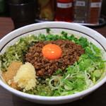 担々麺はなび - 料理写真:台湾まぜそば with ニンニク