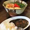 よしもと食堂 - 料理写真:とうふアーサそば&ミニカレー