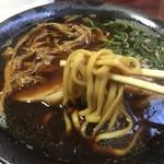 らーめん工房 RISE - 料理写真:焦がし醤油(ブラック)