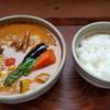 さくらチョップ - 料理写真:チキンスープカレー