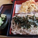 そば処三久 - 料理写真:天ざる
