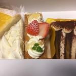76318273 - 購入したケーキ