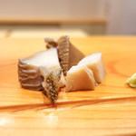 鮨竹 - あわび
