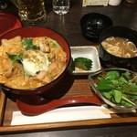 鶏若 - 親子丼ランチ800円税別