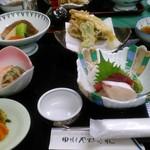 鳴子やすらぎ荘 - 料理写真:夕食