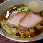 麺 みつヰ - 「醤油」750円也+「味玉」100円也。税込。