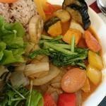 カリオン - 野菜多い分、ルー足りる?