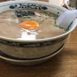 幸陽閣 - アルマイトのお皿の上