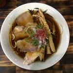麺屋 裕 - らーめん(醤油) 750円