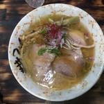 麺屋 裕 - 蟹塩そば 750円