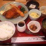 日本料理 空海 - ミックスフライ定食(2017.10)