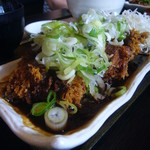 膳 - チキンカツ(どて味噌)