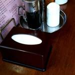 シャモニーモンブラン - テーブルセッティング