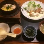 海鮮茶屋 うを佐 - 釜めしチキン南蛮定食1,058円