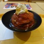 76325050 - ローストビーフ丼(並盛)¥745