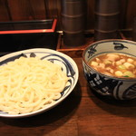 喜竹 - 肉汁つけうどん 温
