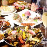 チャチャハナ - まるごと鮮魚1尾と旬野菜のパエリア