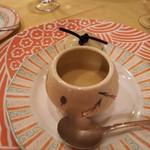 ミューゲ ブラン - 栗のスープ
