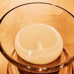 76329477 - 『ビシソワーズコーヒーのパンナコッタにカラスミ』様