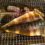 牡蠣小屋浜焼番兵 - ホッケ焼き