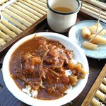 平尾台蕎麦処 えん - [葉山(とも亭)]のチョコット葉山カレー