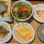 日本蕎麦&鉄板ダイニング 三ヶ森 - 季節の三ヶ森御膳』2,500円。