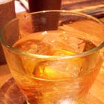 鶏と魚と野菜とMomiji - ウイスキー