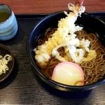 高坂サービスエリア(下り線)レストラン - 天ぷらそば:850円