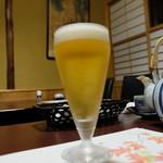 いもぼう平野家本店 - 生ビール(小540円)