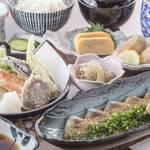 はじめの一歩 - ごまさば定食(お昼)