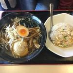 来来軒 - 中華麺&半チャーハン