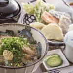 はじめの一歩 - ごまさば丼定食(お昼)