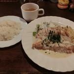 和風イタリアン創作料理 ねこのしっぽ - 鶏むねオーブン焼き850円